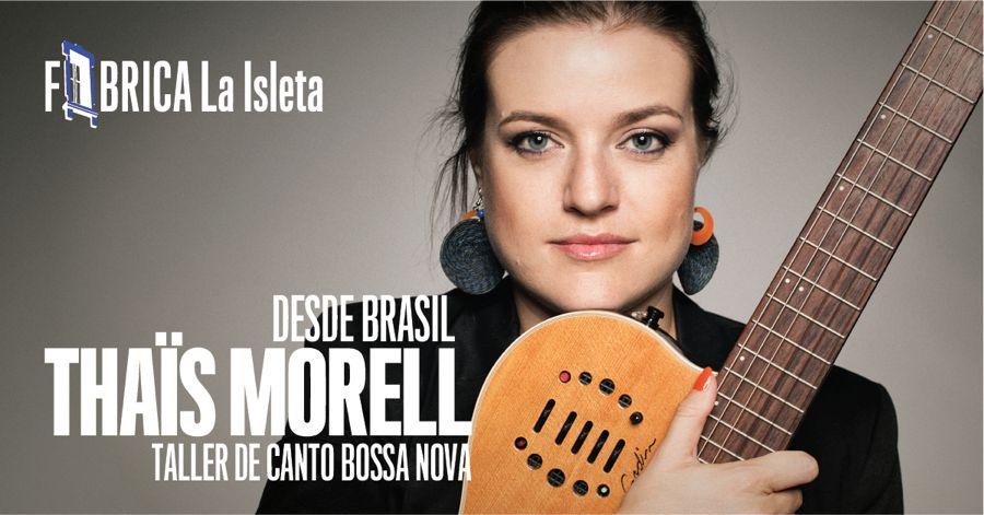 Taller de canto bossa nova con Thaïs Morell