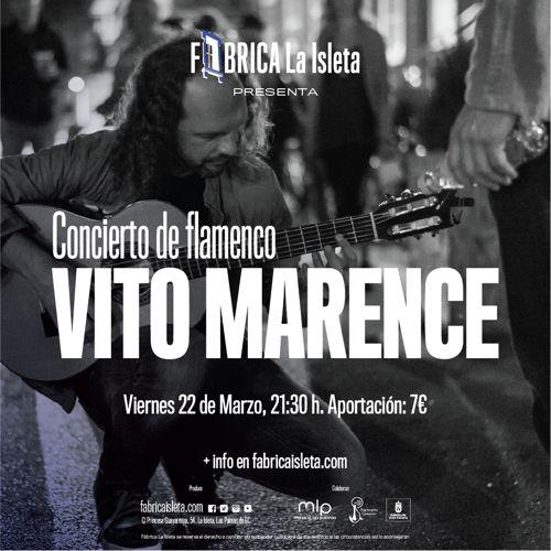 Vito Marence – Concierto de flamenco
