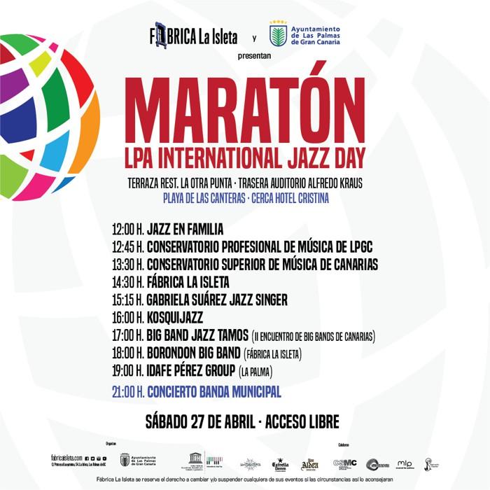Maratón LPA Internacional Jazz Day