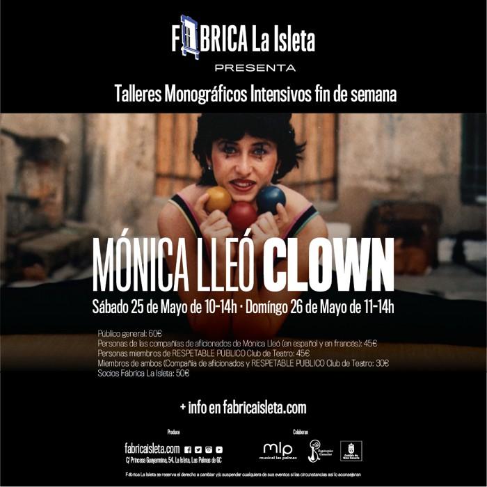 Mónica Lleó presenta sus Talleres Monográficos