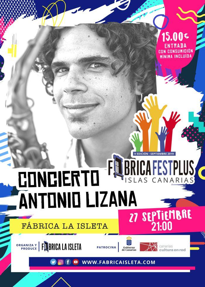 Concierto de Antonio Lizana en Gran Canaria