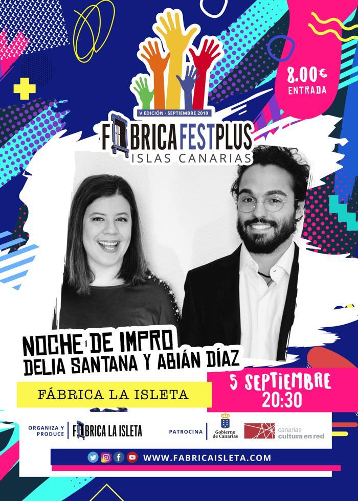 Noche de Impro: Humor con Delia Santana & Abián Díaz