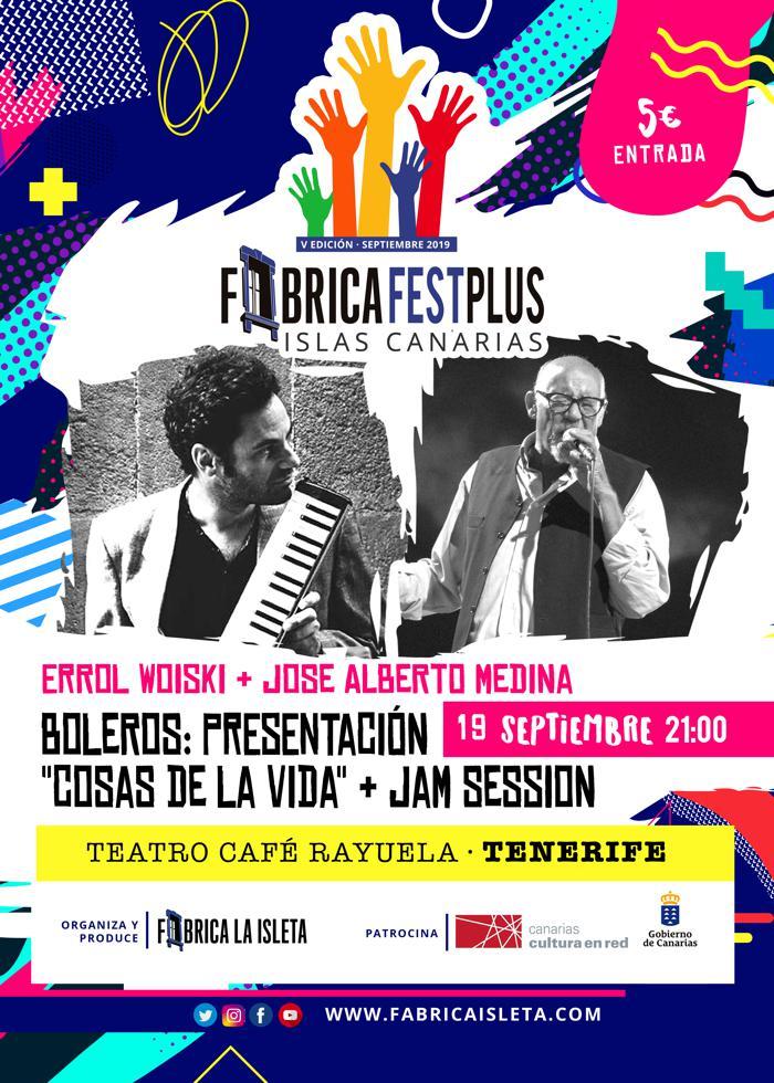 Errol y Jose – Presentación «Cosas de la Vida» + Jam Session