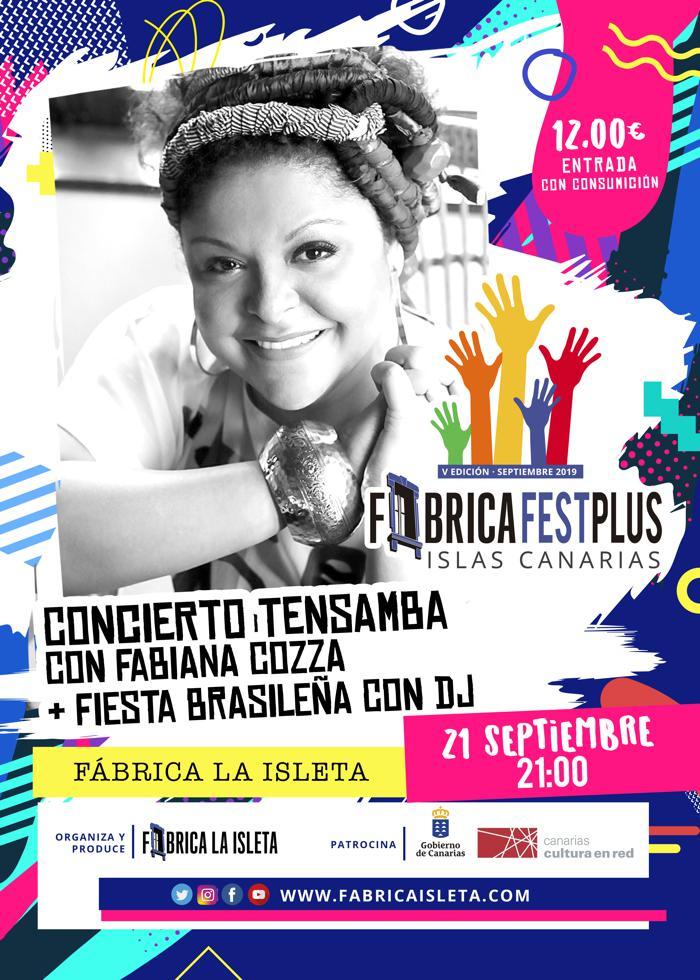 Concierto Tensamba con Fabiana Cozza + Fiesta Brasileña con DJ