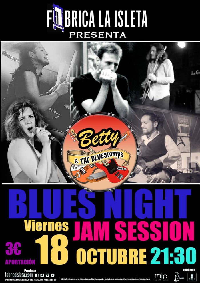 Jam de blues con Betty and the Bluestomps