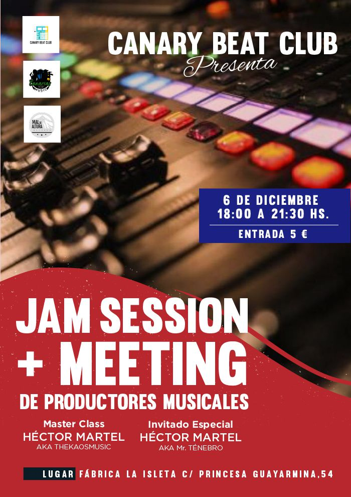 JAM SESSION + MEETING DE PRODUCTORES MUSICALES