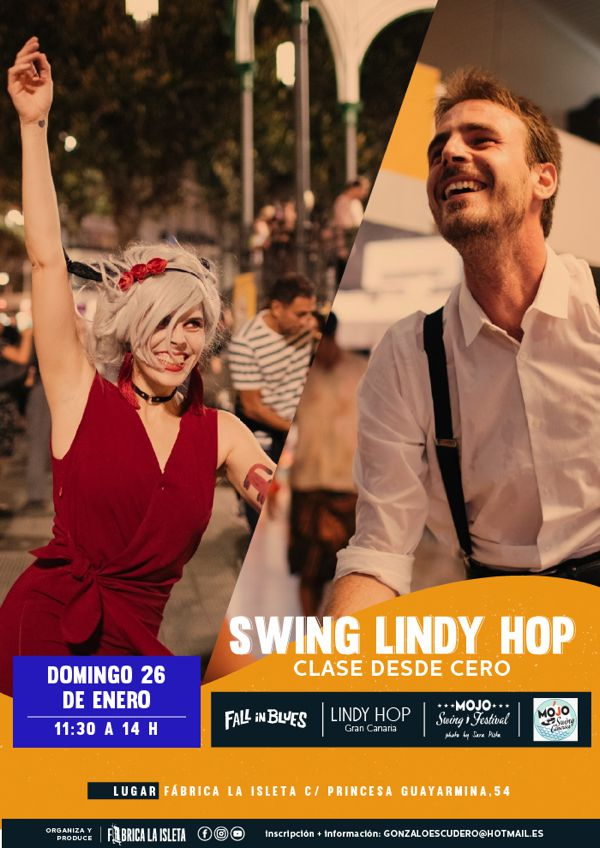 SWING: lindy hop desde 0
