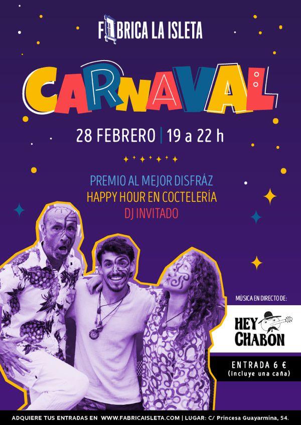 Carnaval en Fábrica la Isleta