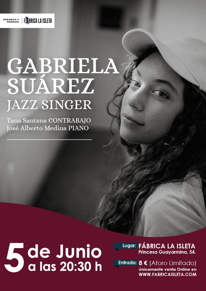 GABRIELA SUÁREZ JAZZ SINGER