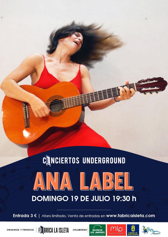 Ana Label – Conciertos Underground