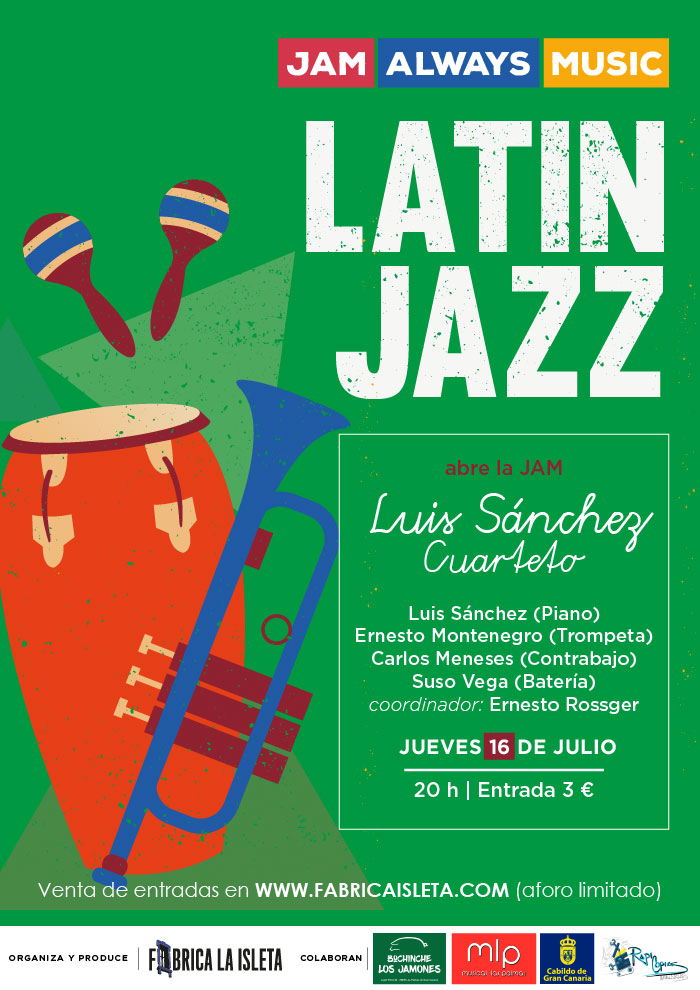 JAM ALWAYS MUSIC – Latin Jazz