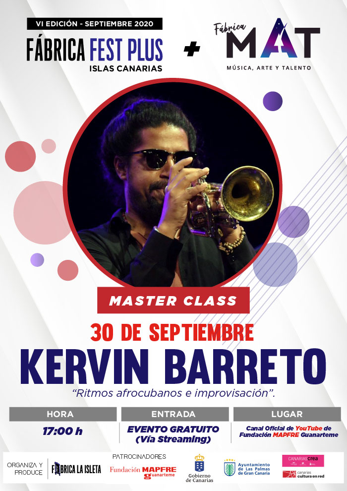 Kervin Barreto – Master Class (Streaming)