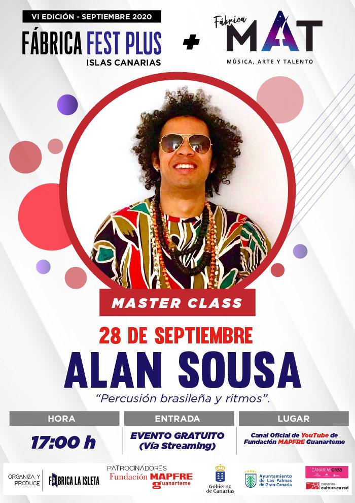 Alan Sousa – Master Class (Streaming)