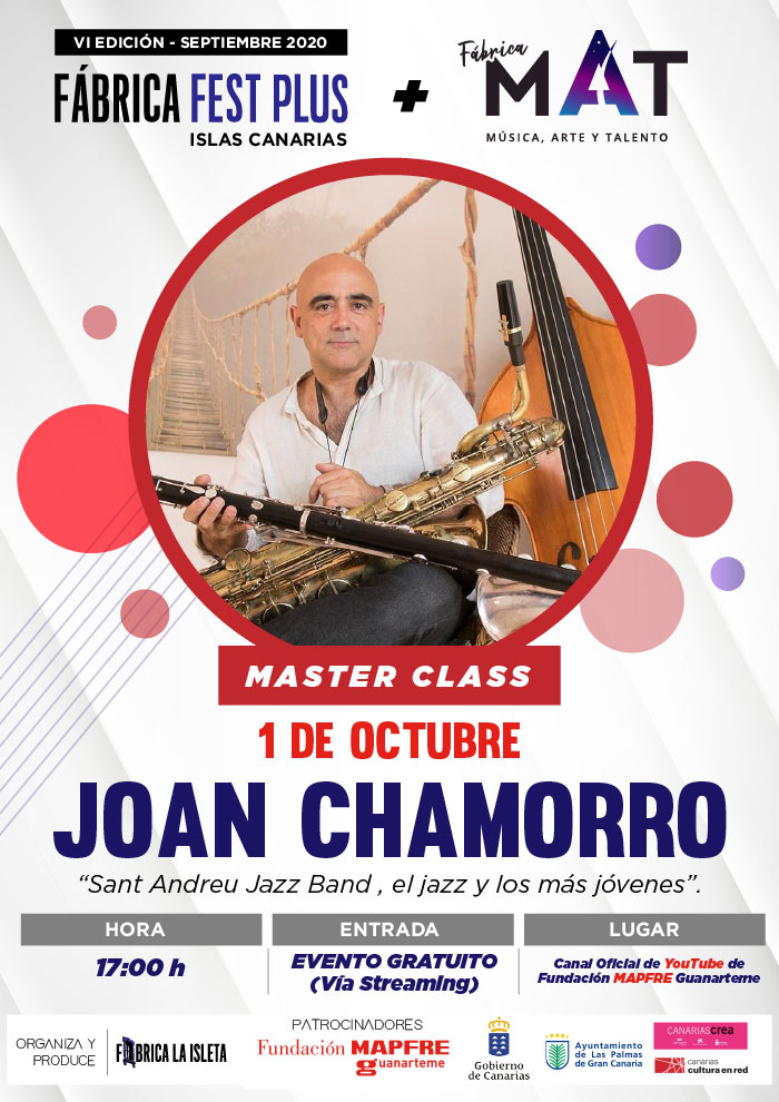 Joan Chamorro- Master Class (Streaming)