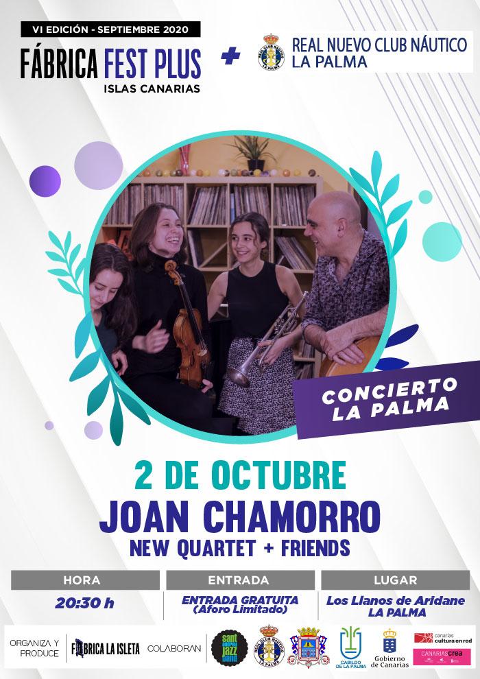 JOAN CHAMORRO NEW QUARTET + Friends (La Palma)