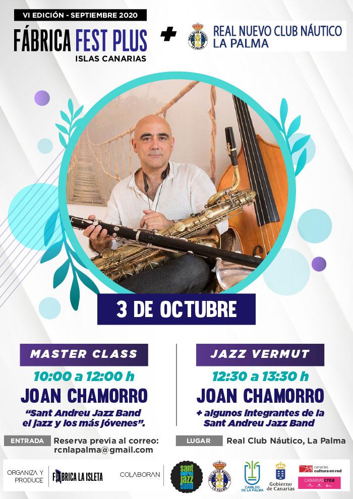 Joan Chamorro- Master Class (La Palma)