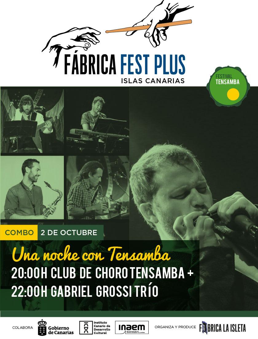 COMBO | Club de Choro Tensamba + Gabriel Grossi Trío