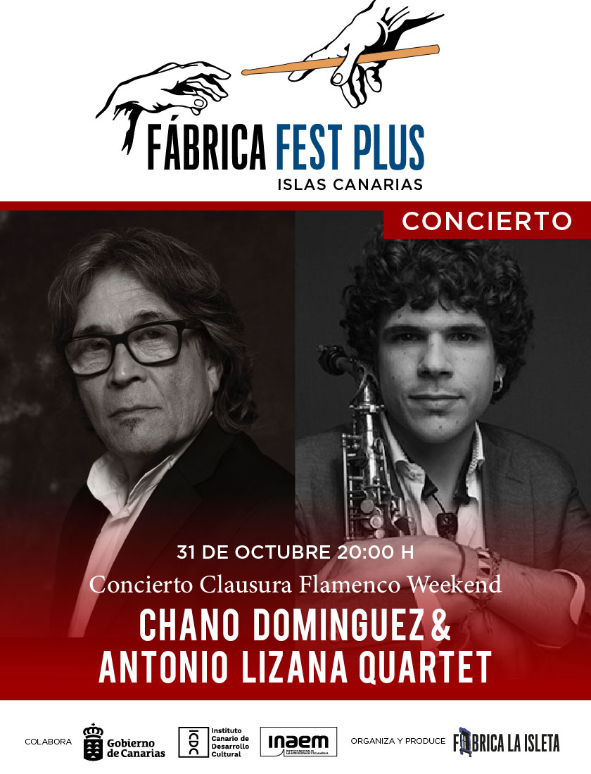 Chano Domínguez & Antonio Lizana Quartet – Concierto Clausura del Flamenco Weekend