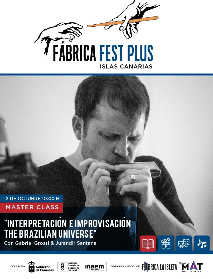 Master Class de interpretación e improvisación «the Brazilian Universe»