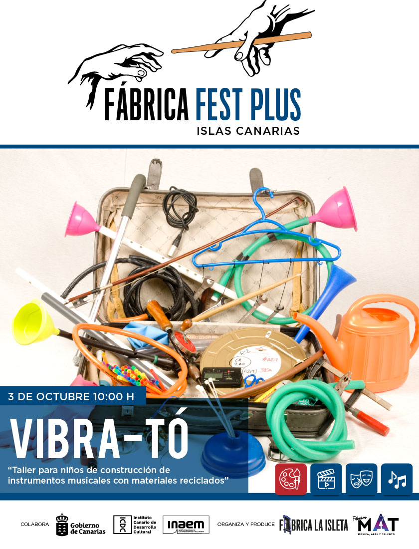 Vibra-Tó – Taller para niños de Construcción de Instrumentos