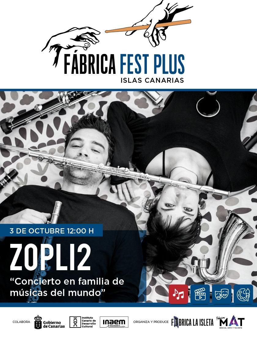 Zopli2 – Concierto en familia de músicas del mundo.