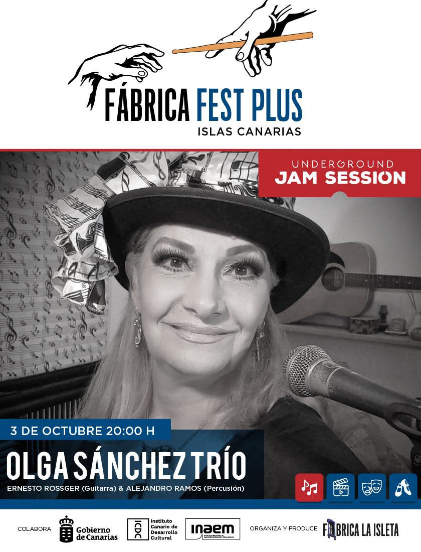 Underground Jam Session – Olga Sánchez Trío