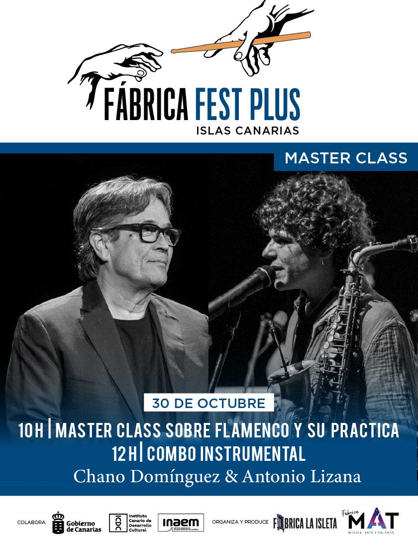Master class sobre flamenco y su práctica + Combo Instrumental