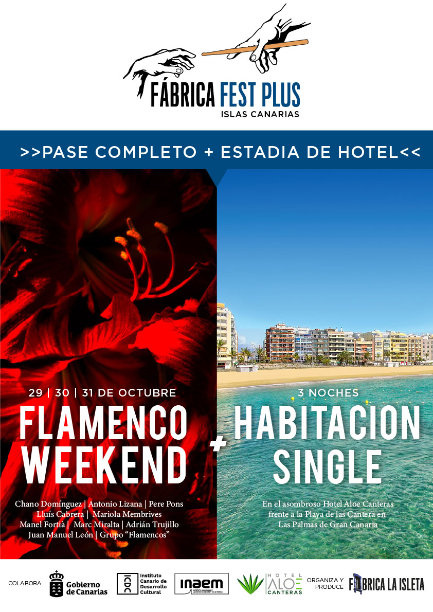 Pase Completo Flamenco Weekend + Hotel (Habitación Single)